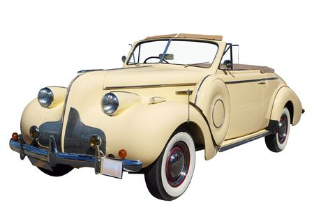 1939 Classic Straight Eight Convertible