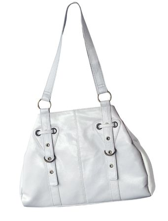 White Handbag Stock Photo - 4796772