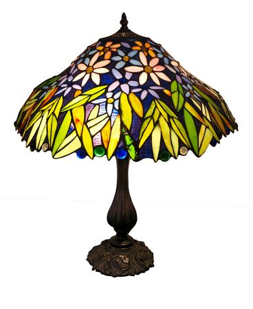 home accents: Art Deco Table Lamp Stock Photo