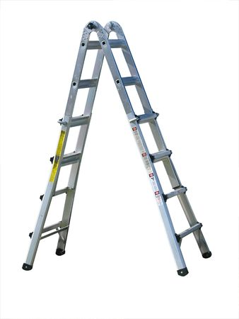 Aluminum Ladder isolated