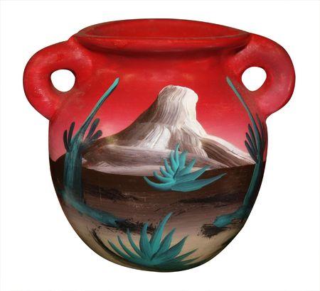 Antique vase photo