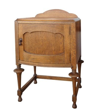 Antique Wooden Cabinet Stock Photo - 5107229