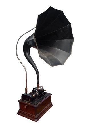 Antique Cylinder Gramophone