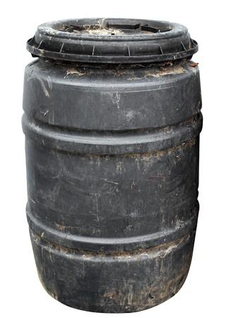 Dirty Plastic Drum  photo