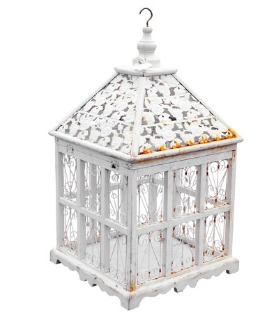antique: Antique Birdcage