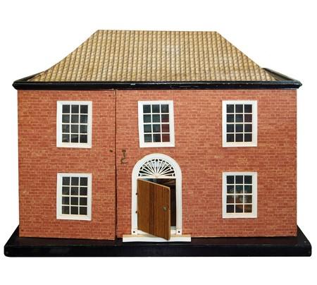 puppenhaus: Antike Puppen Haus