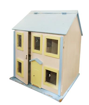 puppenhaus: Alte Dollhouse Lizenzfreie Bilder
