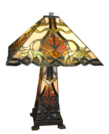Antique Lamp isolated with  photo