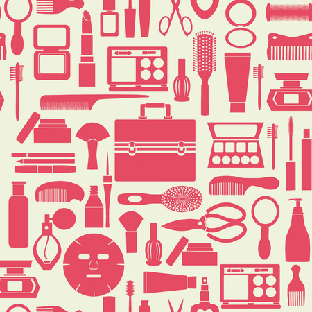Cosmetic collection Illusztráció