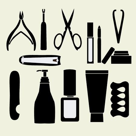 pedicure set: Pedicure and manicure style set