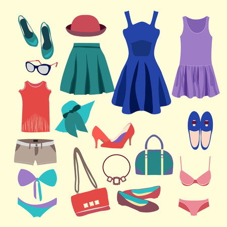 summer clothes: Fashion Collection of summer clothes