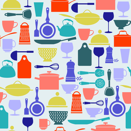 drink tools: Kitchenware and restaurant , glassware icons set in flat design Silhouette.