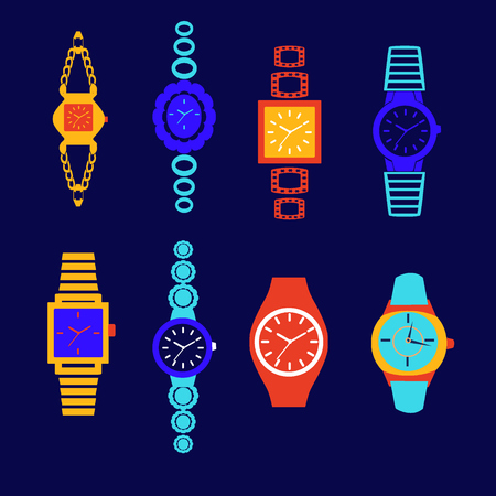 lady clock: collection of fashion watch.