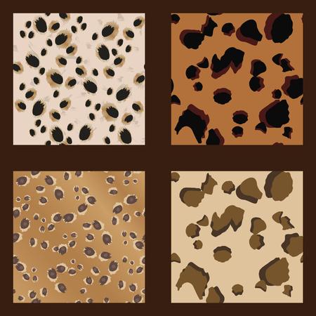undomesticated: Leopard Spots Seamless vector Pattern-Wild - Illustration Illustration