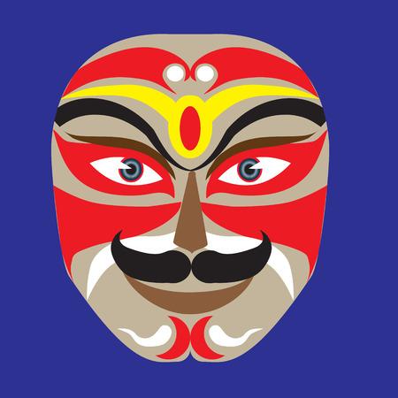 peking: Peking opera mask makeup