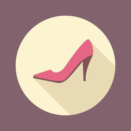 Mode und Schönheit Frauen Zubehör. Einkaufen Schuhe mit hohen Absätzen flache Ikone