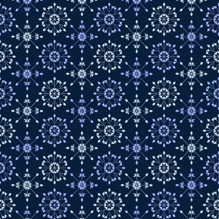Vector Abstract Seamless decorative pattern in vitage style for wallpapers and background.