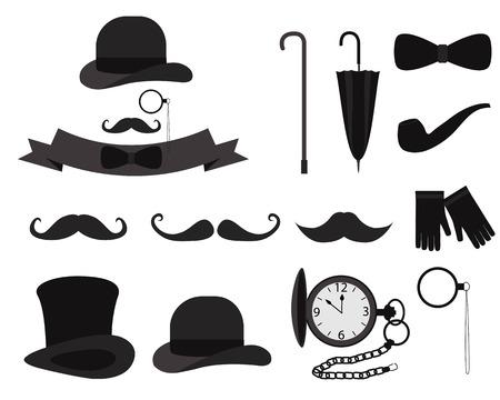 an eyepiece: Set gentleman