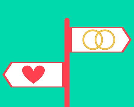 zdradę: Zdrada. Wybór kierunku. Nowa miłość i lojalność. Ilustracji wektorowych
