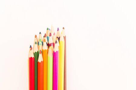 kindergartens on white background Stock fotó