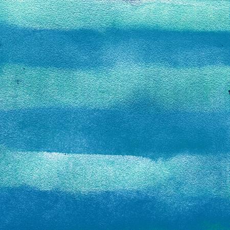 azul turqueza: que representa el color azul de fondo de textura de rayas. acuarela, efecto mojado.