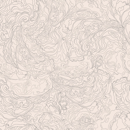 pattern with the image texture of smoke. gray border on a light beige background.