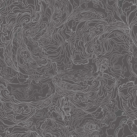 pattern with the image texture of smoke. white border on a dark gray background