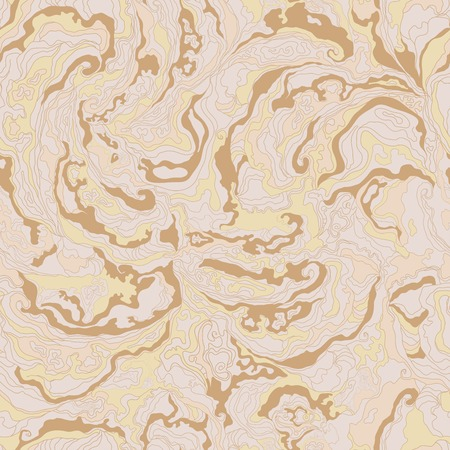 ocher: pattern with the image texture of smoke beige, brown and ocher shades