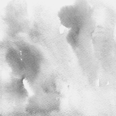 fleck: watercolor texture transparent light gray. watercolor abstract background, spot, blur, fill Stock Photo