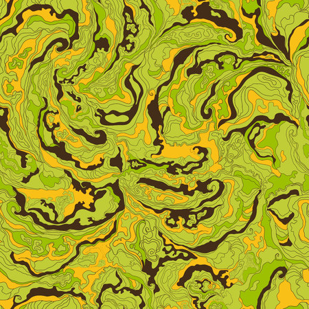 khaki: Pattern with the image texture of smoke yellow, green and brown shades