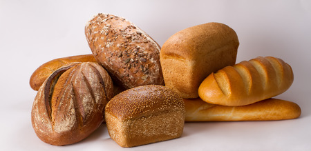 sorts: Assortment of different sorts bread Stock Photo
