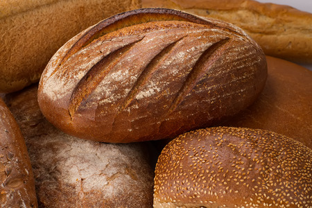 baton: Fresh different baked traditional bread
