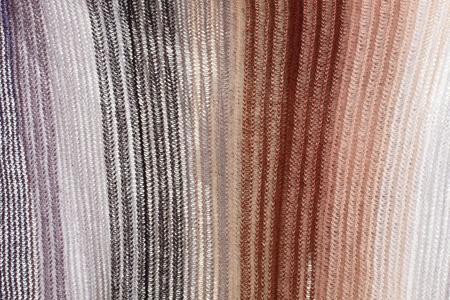 Laine tricotée texture. laine rayée revêtement tricoté à tricoter le sac à main de tricot . produit à la main Banque d'images - 90273267