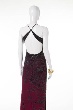 Perfect evening dress for the red carpet.