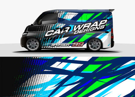 Car Decal concept for vehicle vinyl sticker