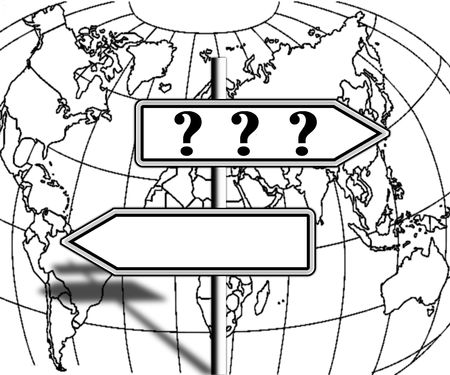 contradict: questions on the direction of the world