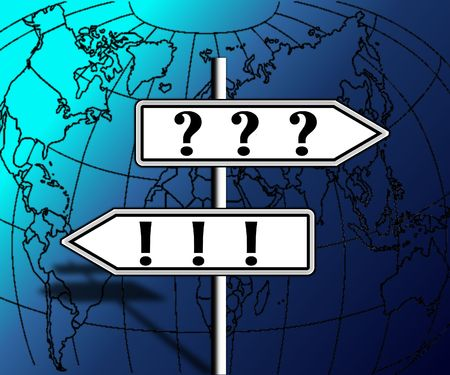 contradiction: questions and answers on the direction of the world