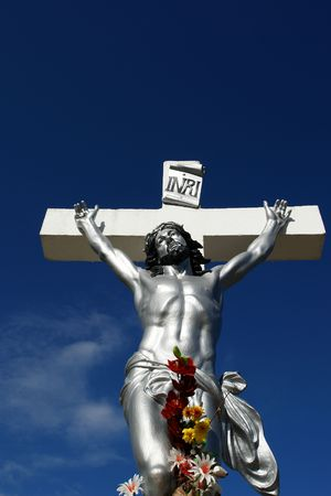 human suffering, jesus Christ on the cross, Stock Photo - 1164972