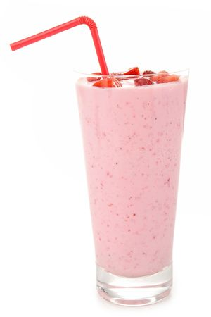smoothies: smoothie de fresa
