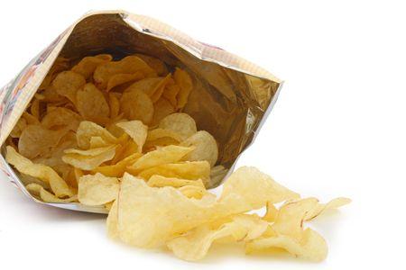 bag of potato chips photo