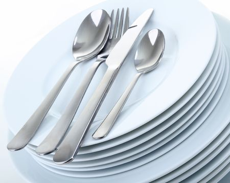 plate and cutlery Stock Photo - 7879352