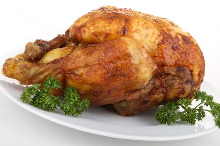 pollos asados: pollo asado