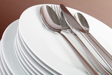 plate and cutlery Stock Photo - 8340720