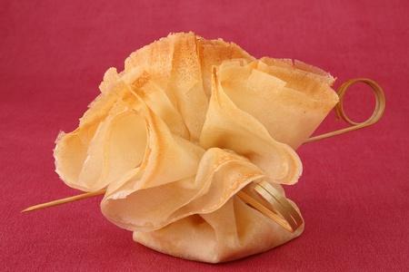 filo pastry: filo pastry, canape food