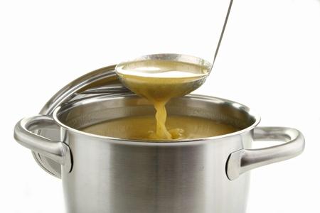 soup pot: soup