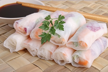 spring roll Stock Photo - 8763149