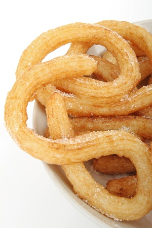 churros: churros Stock Photo