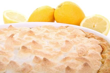 lemon meringue pie photo