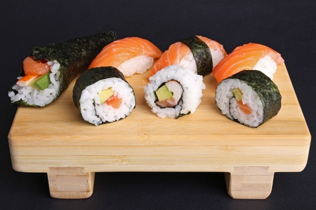 asia food, sushi and maki Stock Photo - 8911910