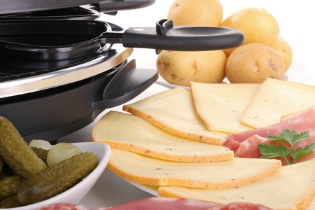 meal of raclette